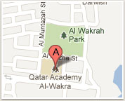 Map to the Qatar Academy - Al Wakra